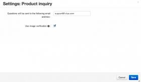 Configure CS-Cart Product Inquiry addon