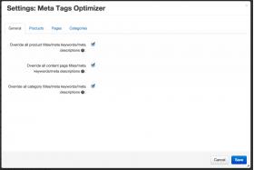 SEO titles add-on settings